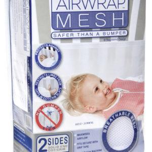 Airwrap Mesh 2 sided bumper - White