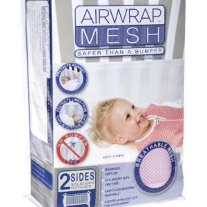 Airwrap Mesh 2 sided bumper - Pink