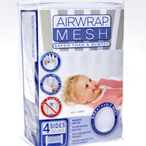 Airwrap Mesh 4 sided bumper - White