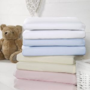 Bizzi Growin Cotbed Fitted Sheets