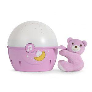 Chicco Next 2 Me Nightlight - Pink