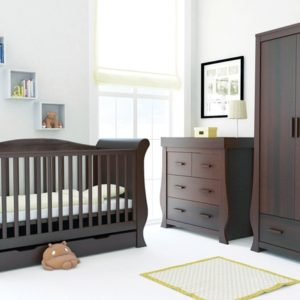 Babystyle Hollie 3 Piece Furniture Set - Rich Walnut