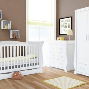 Babystyle Hollie 3 Piece Furniture Set - Fresh White