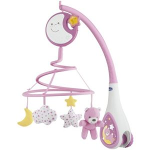 Chicco Next2 Dreams Cot Mobile - Pink