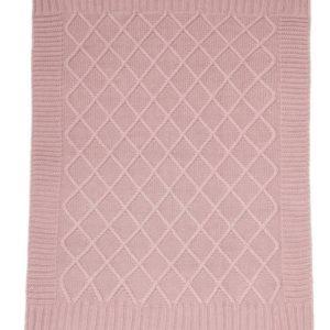 Mamas & Papas Knitted Blanket - Dusky Rose