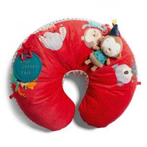 Mamas & Papas Tummytime Snuggle Rug - Cheeky Faces