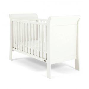 Mamas & Papas - Mia Sleigh Cot - White