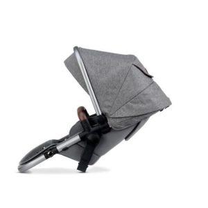 Silver Cross Wave Tandem Seat - Zinc