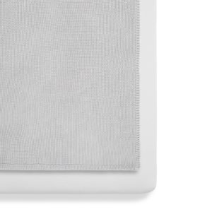 Snuz 3 Piece Crib Bedding Set - Grey