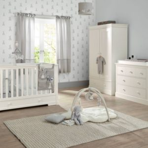 Mamas & Papas Oxford 3 Piece Cot Bed Range - White