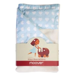 Moover Dolls Pram bedding set - Blue