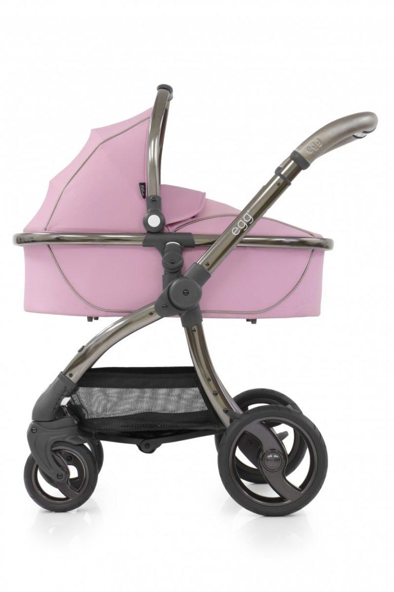 egg Stroller in baby pink