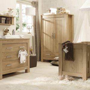 Babystyle Bordeaux 4 Piece Furniture Set