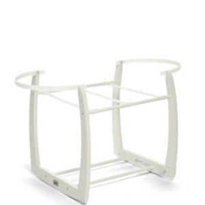 Mamas & Papas - Rocking Moses Basket Stand - White