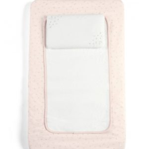 M&P Welcome To the World Luxury Changing Mattress - Pink