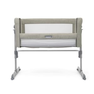 Joie Roomie Glide Side Sleeping Crib - Almond