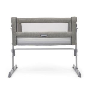 Joie Roomie Glide Side Sleeping Crib - Foggy Grey