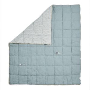 Welcome To the World Farm 4 Tog Quilt - Blue