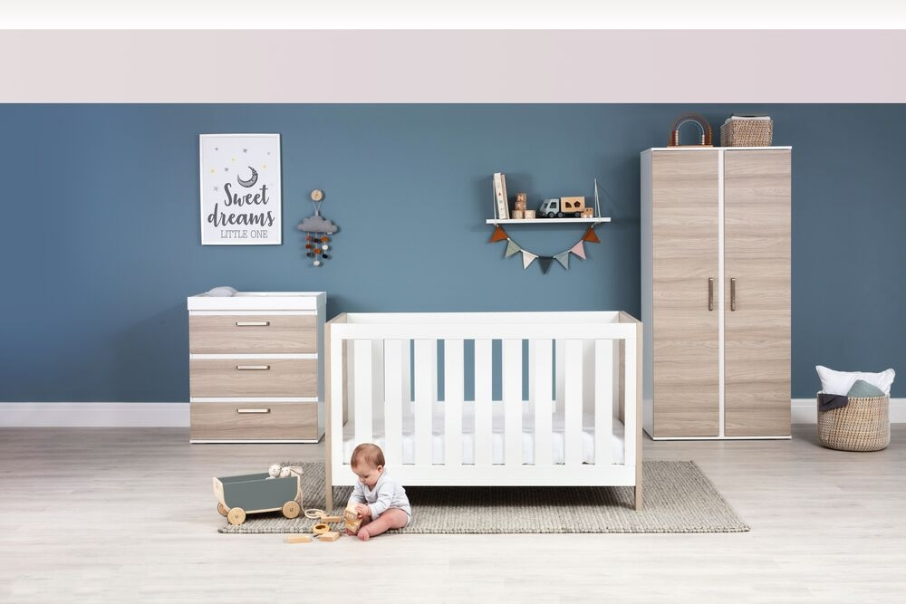 Silver Cross Finchley 3 Piece  Nursery Collection